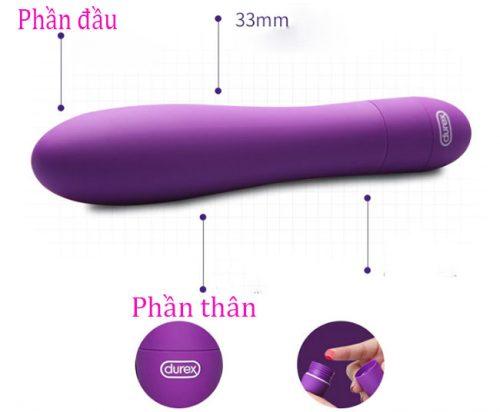 Các phần Đồ chơi kích thích âm đạo Durex V-Vibe