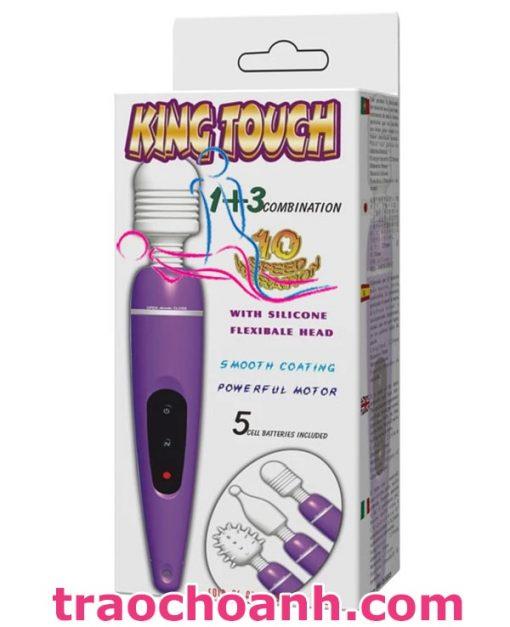 Máy rung tình yêu mini King Touch